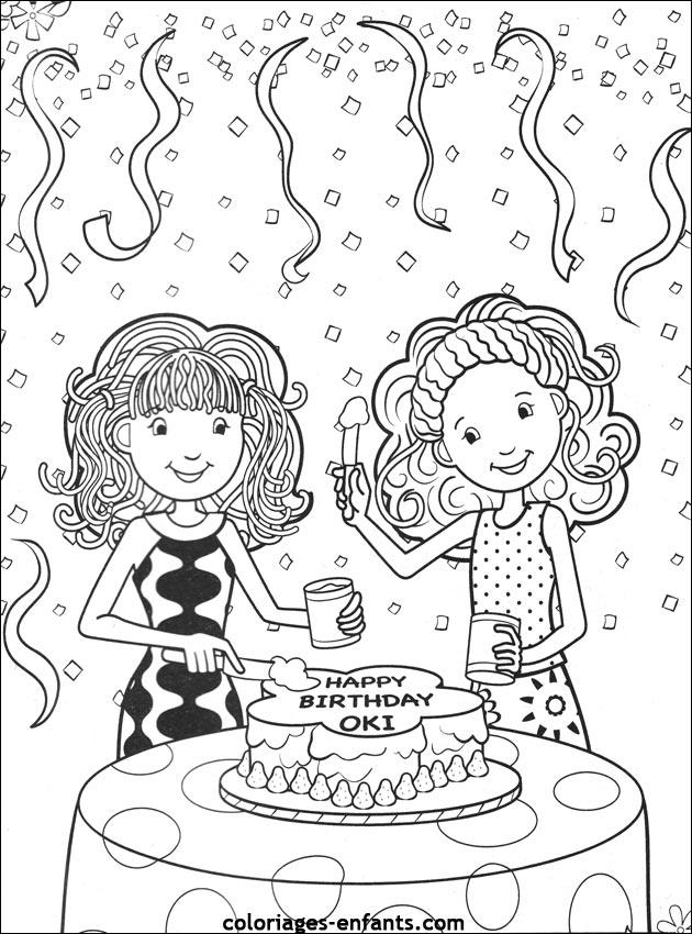 Coloriage d 39 anniversaire imprimer sur coloriages - Dessin pour anniversaire adulte ...