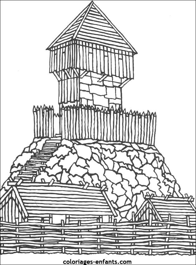 chateau fort sch u00e9ma