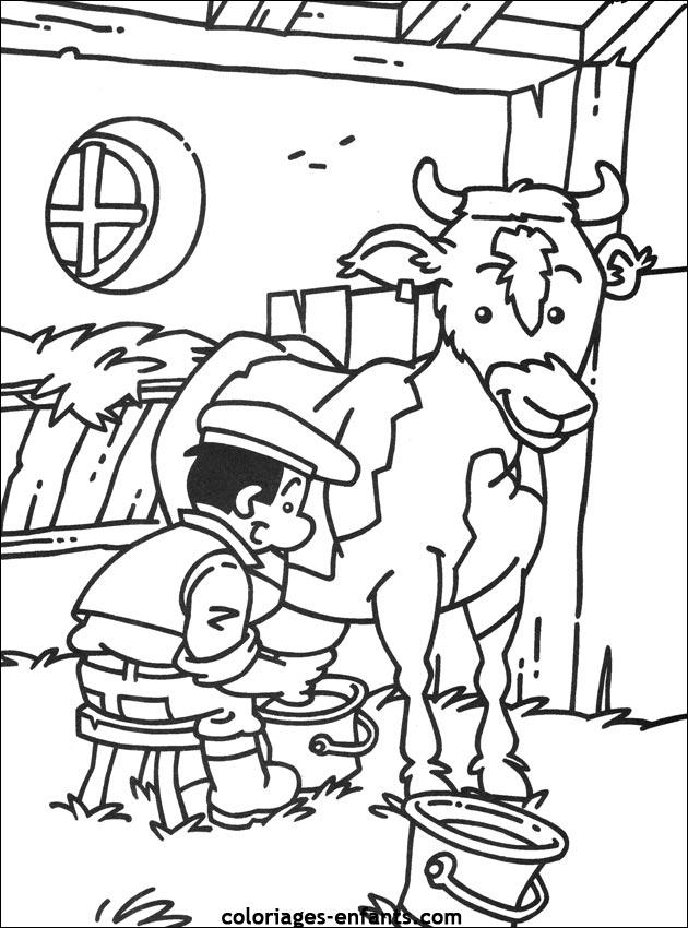 Fermier colorier - Coloriage fermier ...