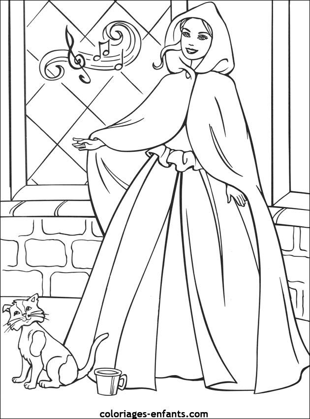 Princesse aurore coloriage - Coloriage de aurore ...