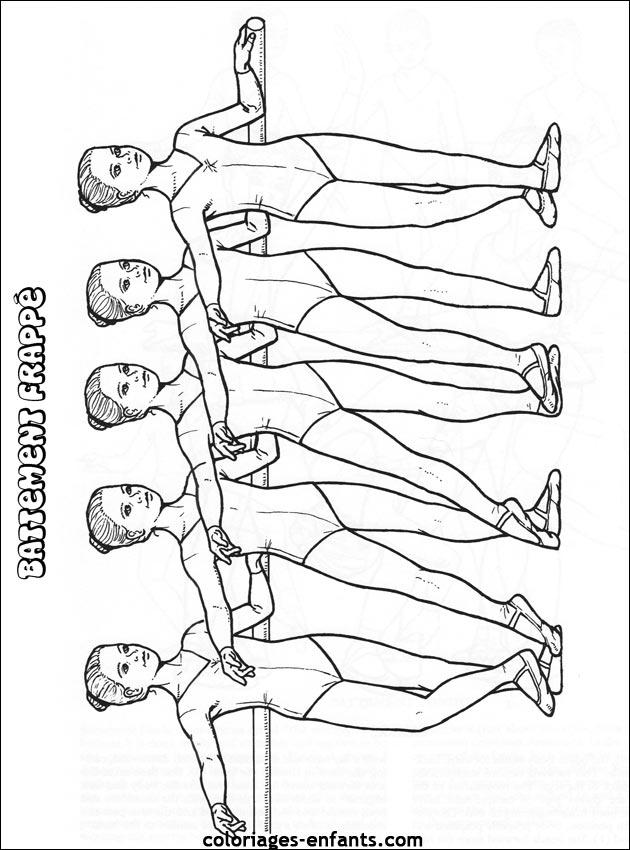 Index Of Rubrique Sports Images Coloriages Danse