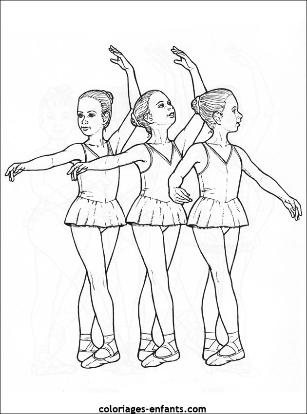 Index of rubrique sports images coloriages danse - Coloriage de danseuse ...