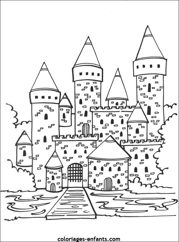 Index Of Rubrique Lieux Images Coloriages Chateaux Forts